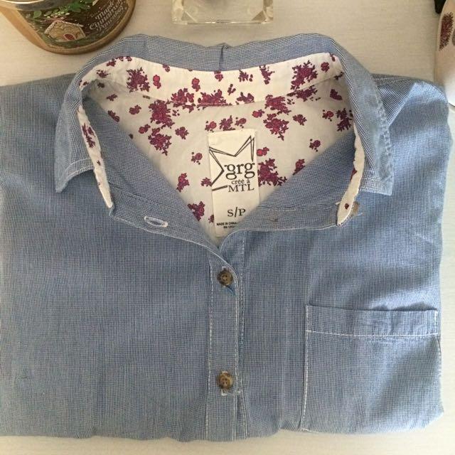Garage Button Down Shirt (Size small)