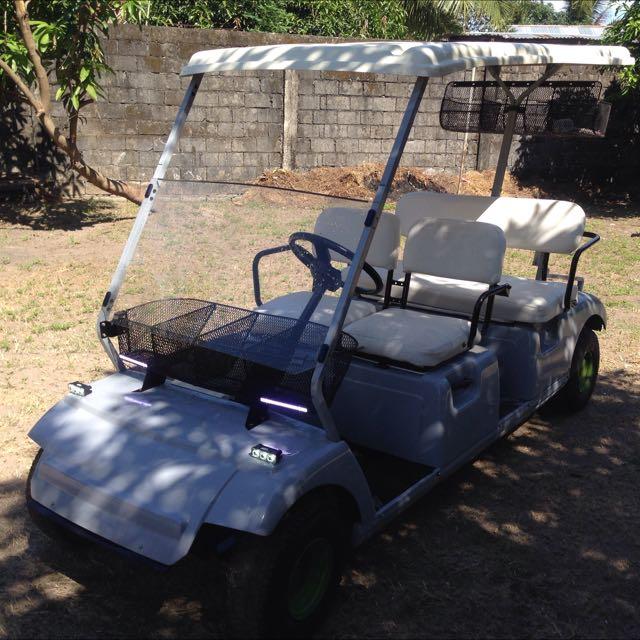 Golf car w/ gasoline engine