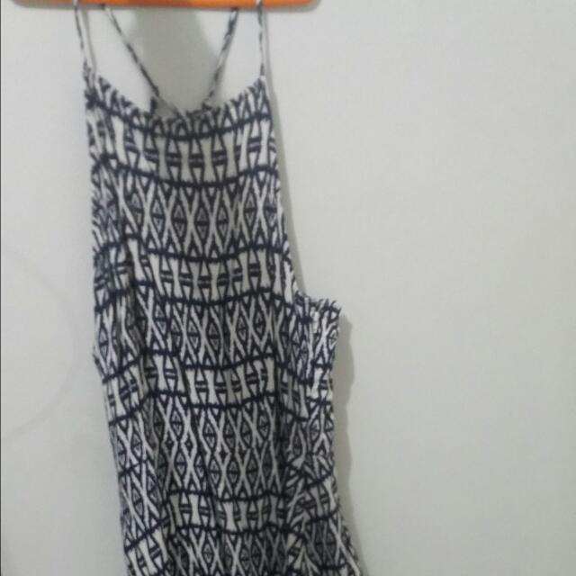 Halter Dress By H&M