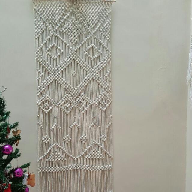 💖💖🌱Handmade Macrame Wall Hanging -Harmony