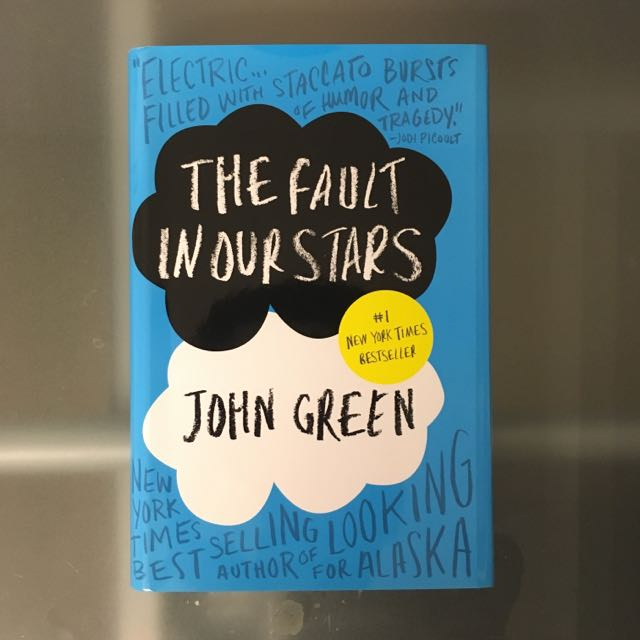 Hardcover The Fault In Our Stars