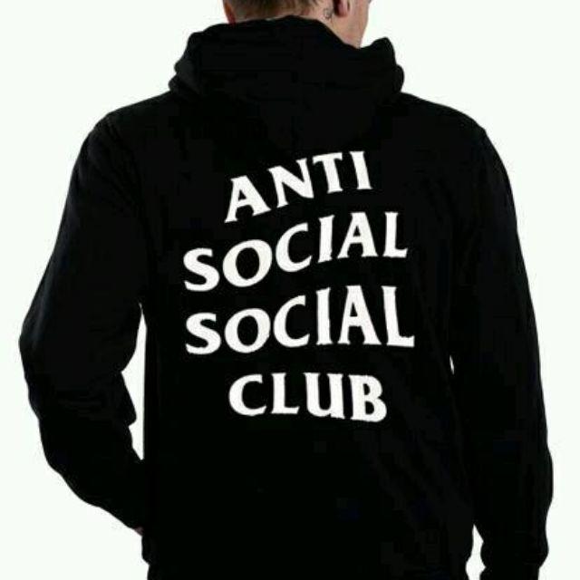 eeb6205d821f HOODIE ANTI SOCIAL SOCIAL CLUB   ASSC   BLACK   RED   NAVY   MISTY ...