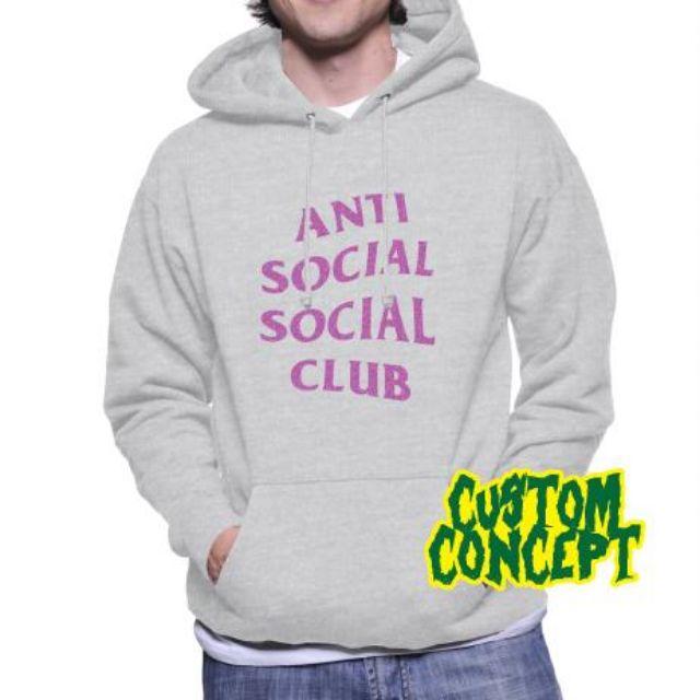 5a43b8238519 HOODIE ANTI SOCIAL SOCIAL CLUB   GLITTER 013 - NIRON CLOTH