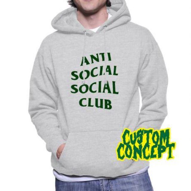 caaa316b42bb HOODIE ANTI SOCIAL SOCIAL CLUB   GLITTER 06 - NIRON CLOTH