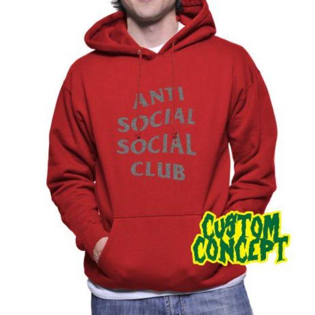 c26402636003 HOODIE ANTI SOCIAL SOCIAL CLUB   GLITTER 08 - NIRON CLOTH