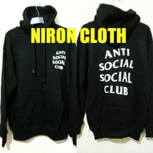 b5e3c5b61140 HOODIE ANTI SOCIAL SOCIAL CLUB   Z7 - NIRON CLOTH