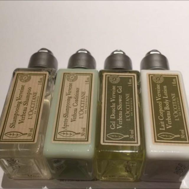 Loccitane Shampoo Conditioner Shower Bath Set