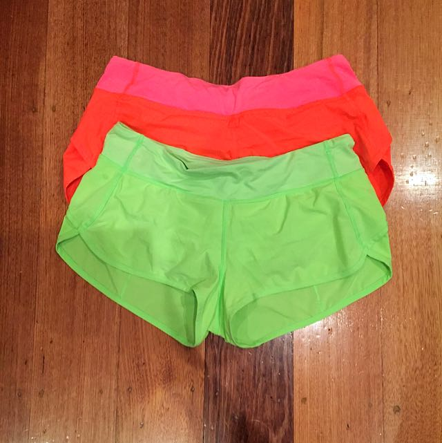 LULULEMON RUN SPEED SHORT X2