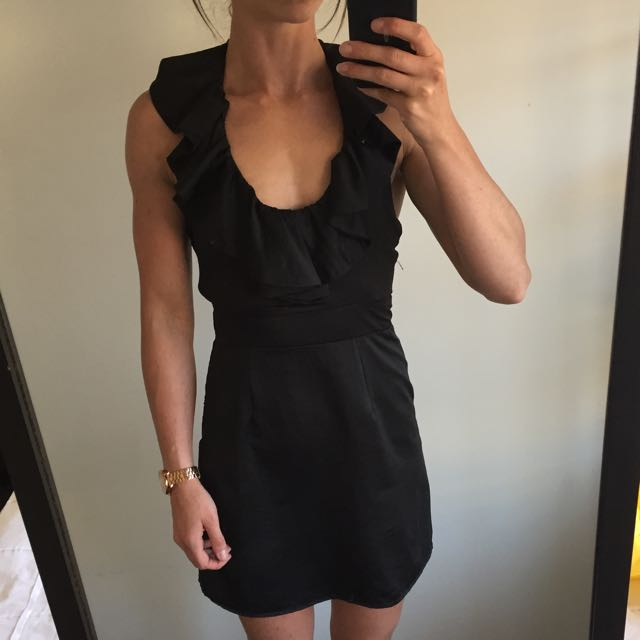 Mink Pink Halter Cocktail Dress