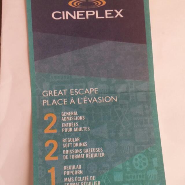 Movie Tickets *reserved*