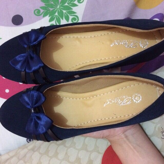 NEW FLATSHOES NAVY