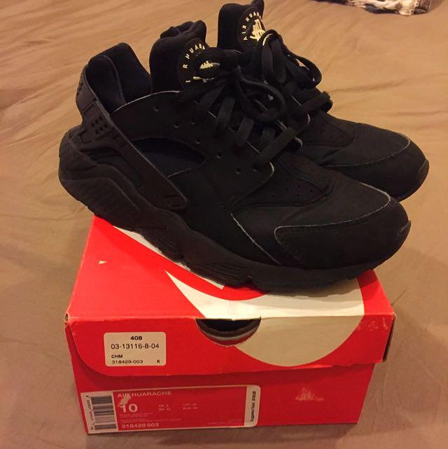 Nike Air Huarache (Triple Black)