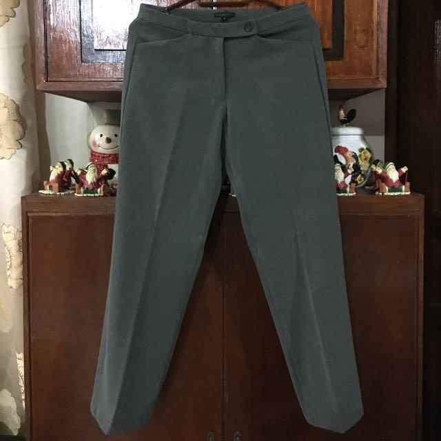 👱🏻♀️Paperdolls Dark Olive Green Office Pants