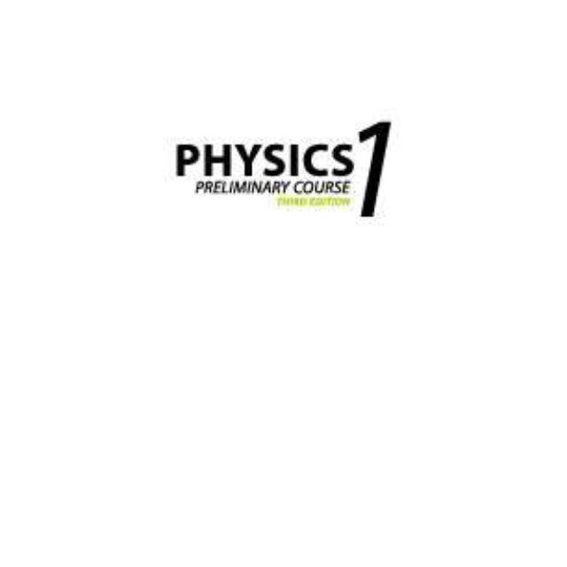 Physics 1 Preliminary 3E eBook Plus(online Purchase)