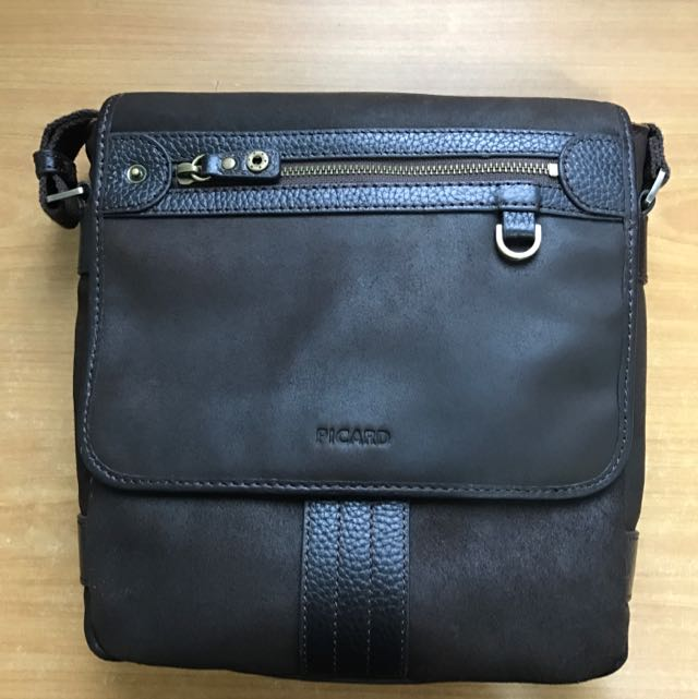 711a67eef6ac6 PICARD Leather Sling Bag