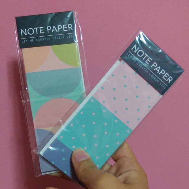 全新!Pinkie設計好物便條紙