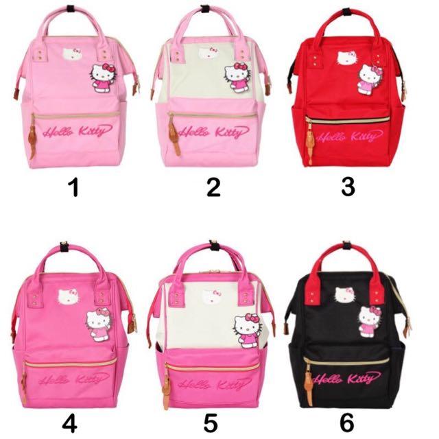 ada81de1b72f •PO• Hello Kitty Anello Japan School Bag Pack