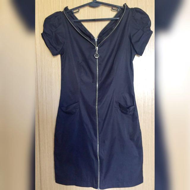 Semi Leather Dress