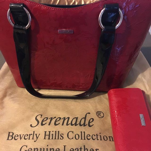 Serenade Handbag And Wallet