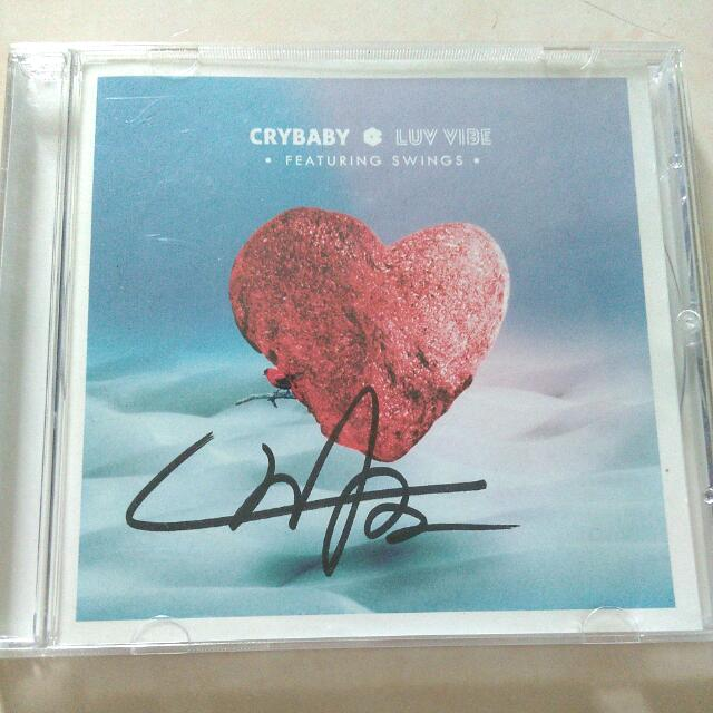 Signed CD Crybaby - Luv Vibe