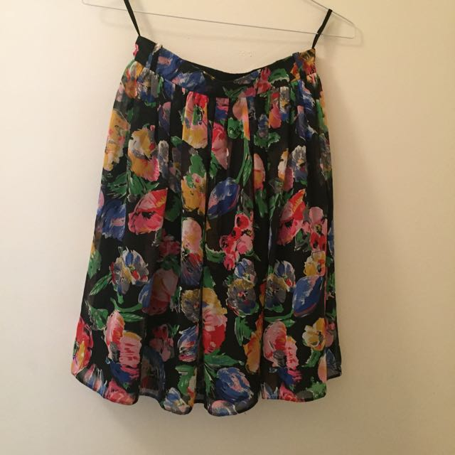 Size 8 Floral River Island Shirt