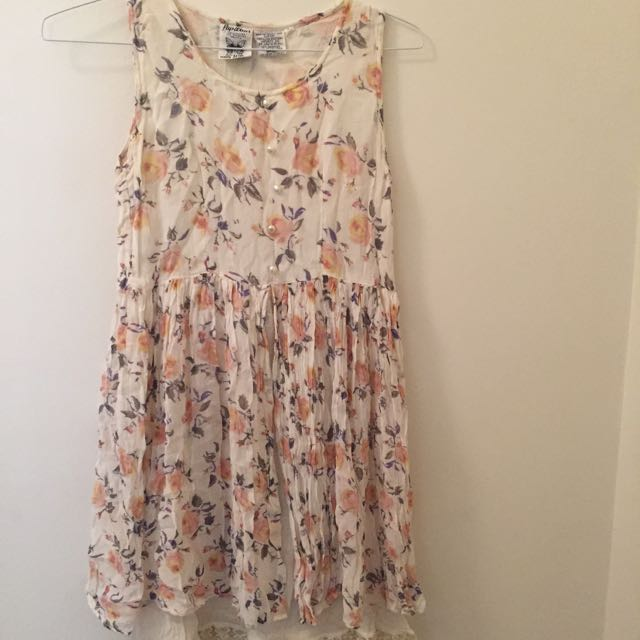 Size S Floral 90's Style Dress