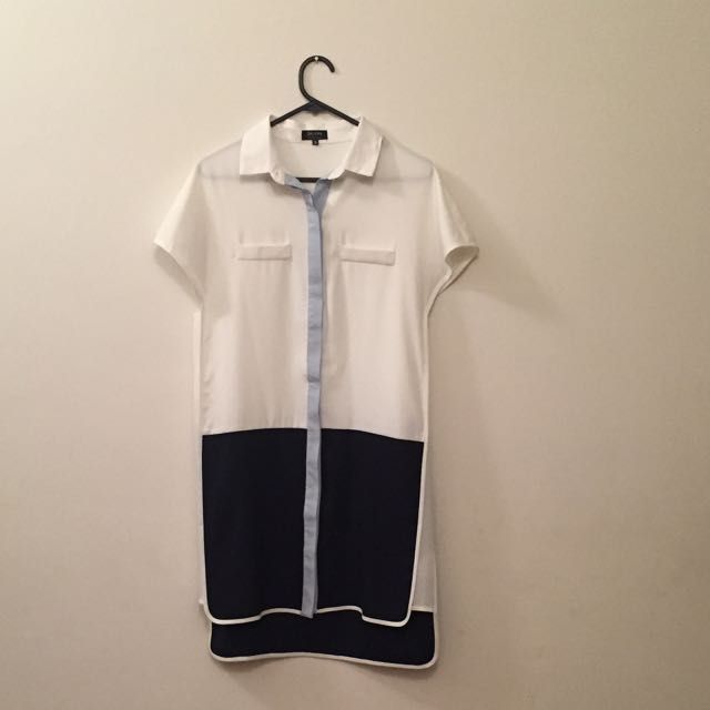 Size S Zalora Shirt Dress