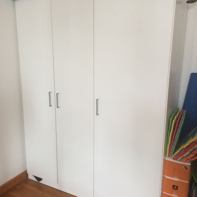 Three Door Ikea Wardrobe Home Furniture Cabinets