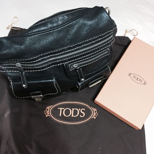 b264485022 Authentic Tod's Took Tracolla Media bag, Luxury, Bags & Wallets on ...