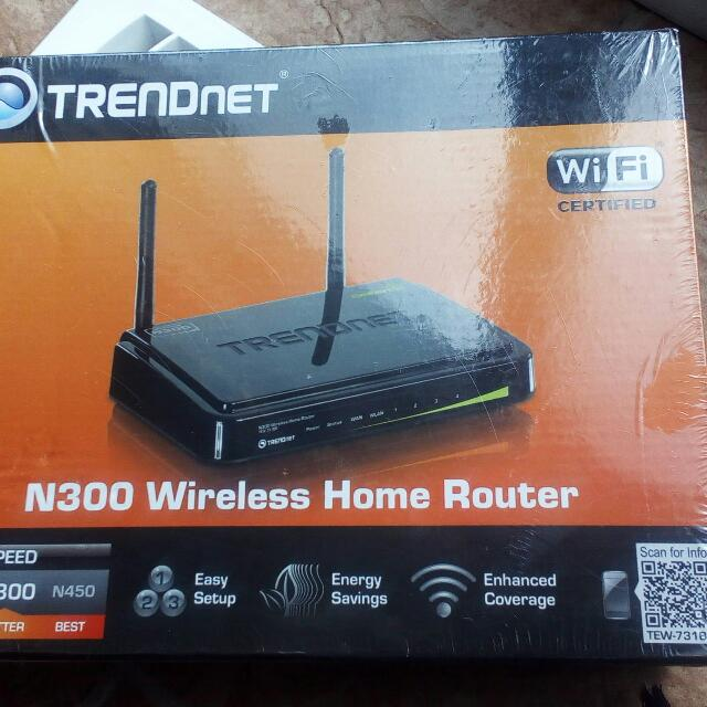TrendNet N300 Router  - never used, still shrink-wrapped