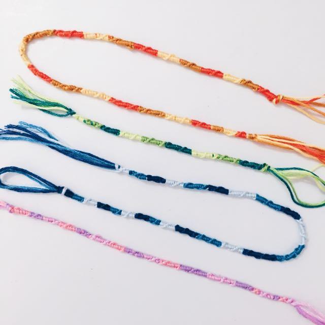 Twist Knot Bracelets & Anklets