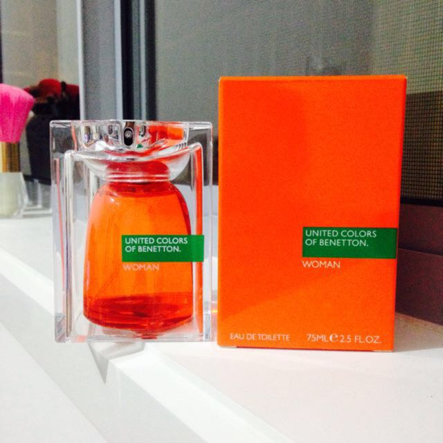 United Colors Of Benetton Woman EDT Perfume Spray