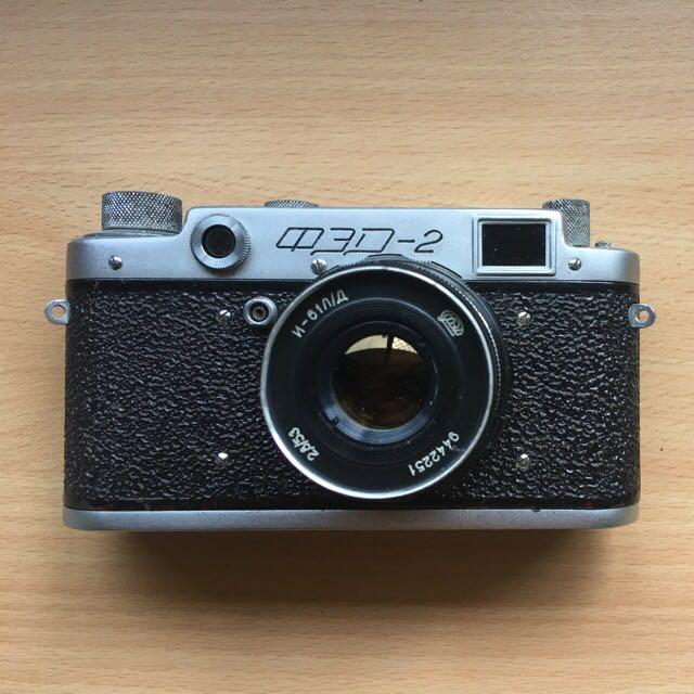 Vintage old school Russian Film Camera