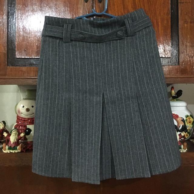 👱🏻♀️Wilson Gray Office Skirt