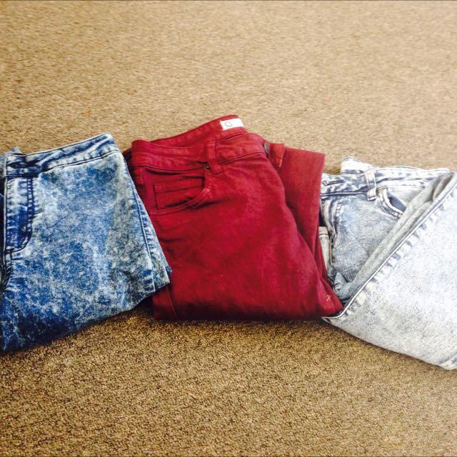 Woman's Skinny Jeans