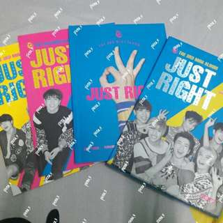 GOT7- JUST RIGHT ALBUM (Unsealed)