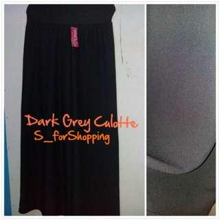 Dark Grey Culotte ( Long Culotte)