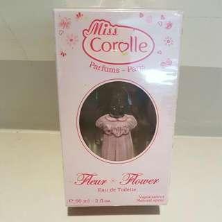 【過期出清】巴黎Miss Corolle克拉拉花漾女孩60ml,全新專櫃正品,包裝完整,有中文標示。