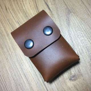 Handcrafted Leather Cigarette Case