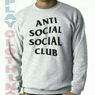 Sweter Anti social club new playclotink