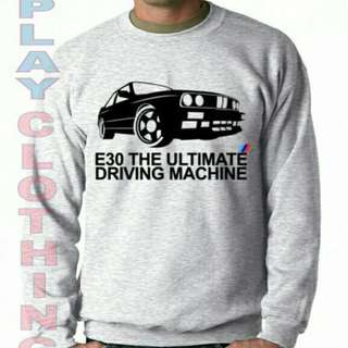Sweter BMW E30 ultimate driving machine new playclotink