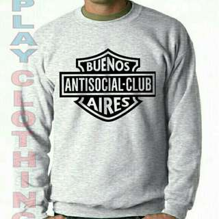 Sweter Anti social buenos aires playclotink