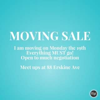 MOVING SALE!!!!!