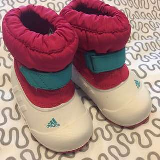 Adidas Winter Shoes Size 4