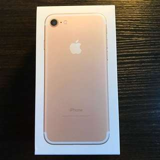 iPhone 7 Gold 128GB Like New
