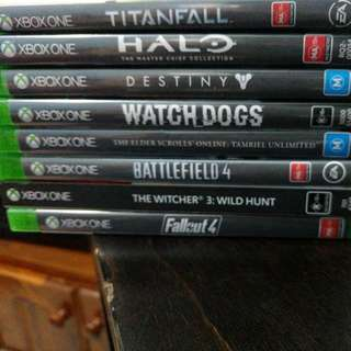 Xbox1 Games