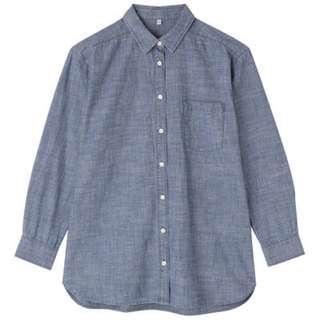 無印良品➡️長版襯衫 罩衫 muji