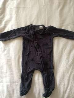 Baby Bodysuit (0-3 months)