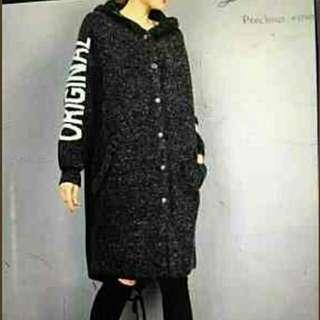 韓國大黃蜂長版外套