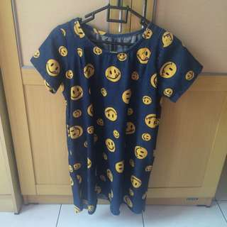 Smiley Jeans Dress